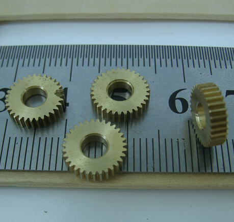 0 3M 30Teeths Diameter 9 9mm Inner Hole 4mm small copper gear thickness 2 5mm in Gears from Home Improvement