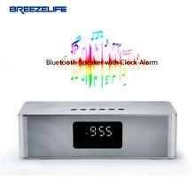 Breezelife Динамик Bluetooth Динамик 10 Вт Bluetooth Динамик S Портативный Super Bass часы для Iphone для Xiaomi Bluetooth Динамик