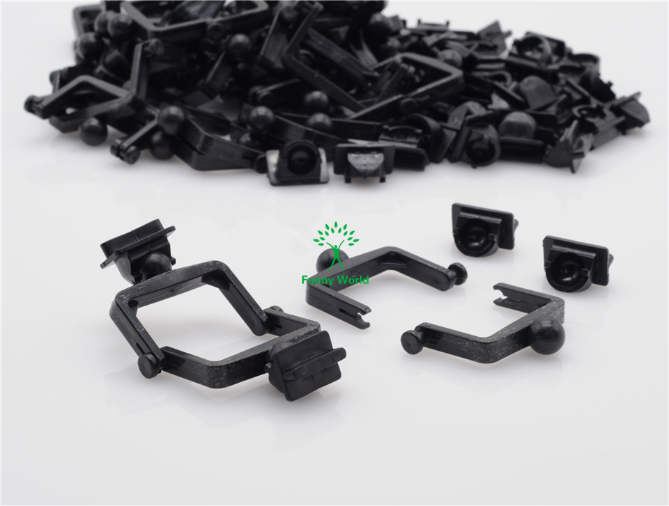 New 200Pcs Dental Lab Plastic Disposable Articulator Ceramco Articulator Black