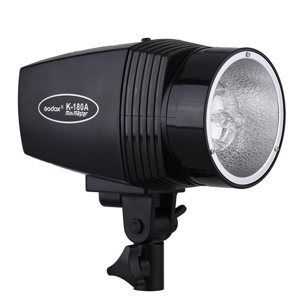 ФОТО GODOX K-180A EU/US Plug Master 180W Studio Strobe Video Light Compact Flash Light Lamp for Portrait Fashion Wedding Photography