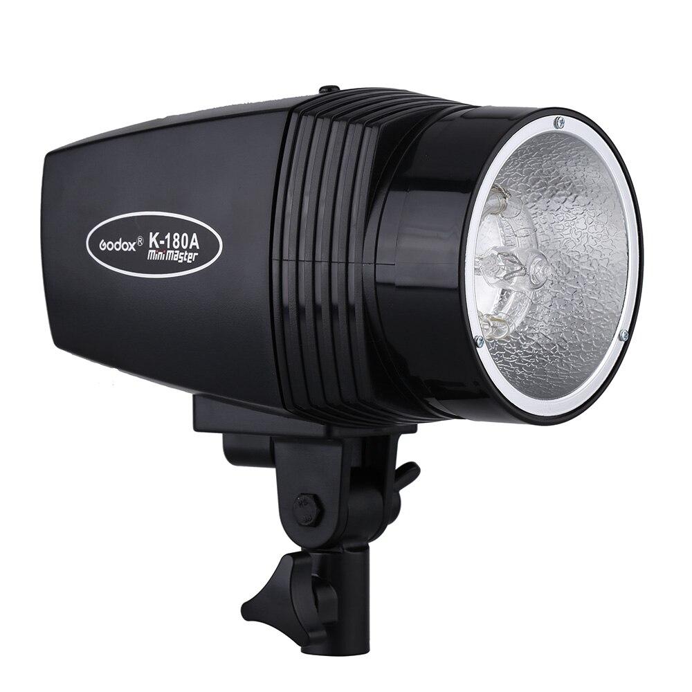 GODOX K-180A Master 180 W Studio lumière vidéo stroboscopique lampe Flash compacte pour Portrait mode photographie de mariage