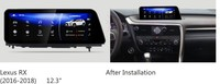 NAVIRIDER навигации 12,3 8 ядерный android 7,1 Штатная для Lexus RX 200 т RX200t RX200 2015 ~ 2018 AL20 RX 300 450 h RX300 gps