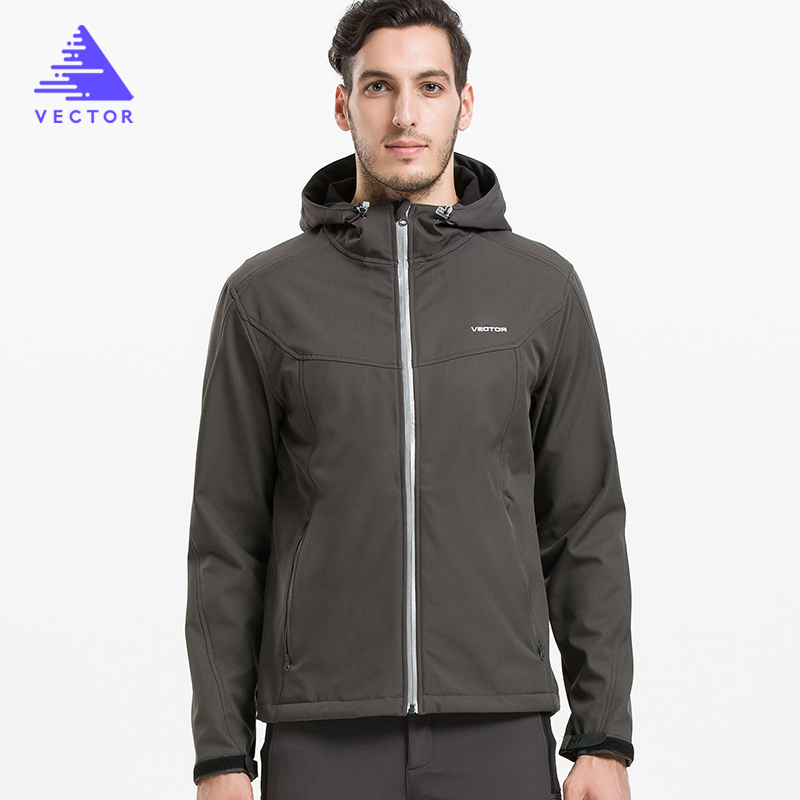 VECTOR Softshell Jacket Men Outdoor Jacket Windproof Waterproof Jacket Male Camping Hiking Jackets Rain Windbreaker 60025
