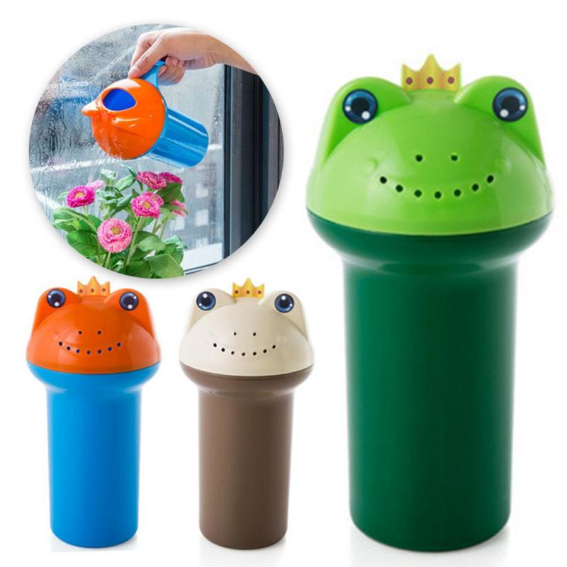Frog Shape Children Kids Rinse Cup Baby Hair Washing Eye Shield Shampoo Cup Infants Shower Rinser Bathing Scoop Tools B3