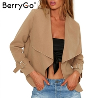 BerryGo Soft Knitted Cardigan Female Coat Elastic Cardigan Winter Sweater Women JumperGray Casual Short Sweater Pull