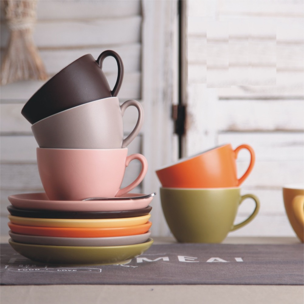 Coffee cup family restaurant - Aliexpress Com Buy High Grade Western Restaurant Ceramics Coffee Cup Latte Black Tea Cup Family Living Use Product From Reliable Ceramic Coffee Suppliers
