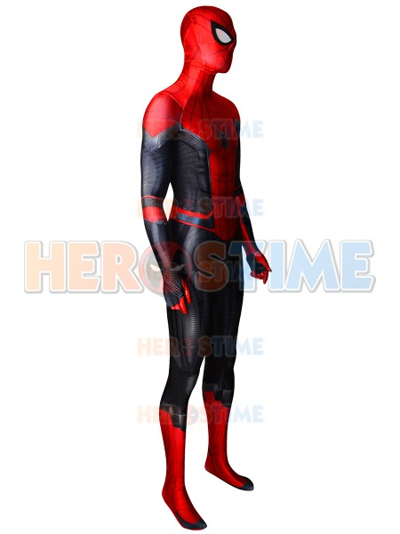 Spider-Man Suit Far From Home Spiderman Costume 3D Printed Spider Cosplay Party Suit For Adult/Kids /Custom Made Free Shipping