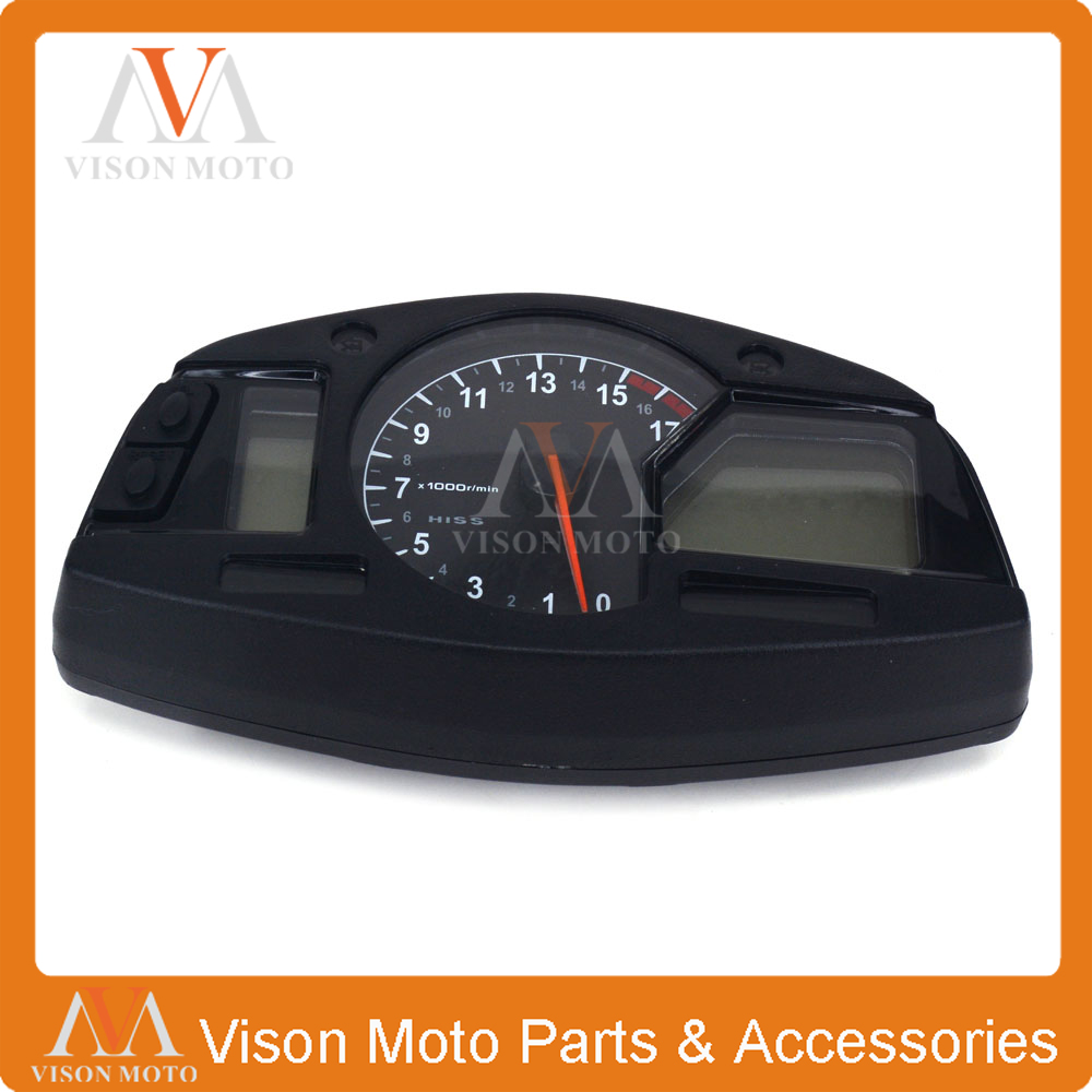 Motorcycle Speedometer Clock Instrument Gauges Odometer Tachometer For HONDA CBR600RR F5 2007 2008 2009 2010 2011 2012