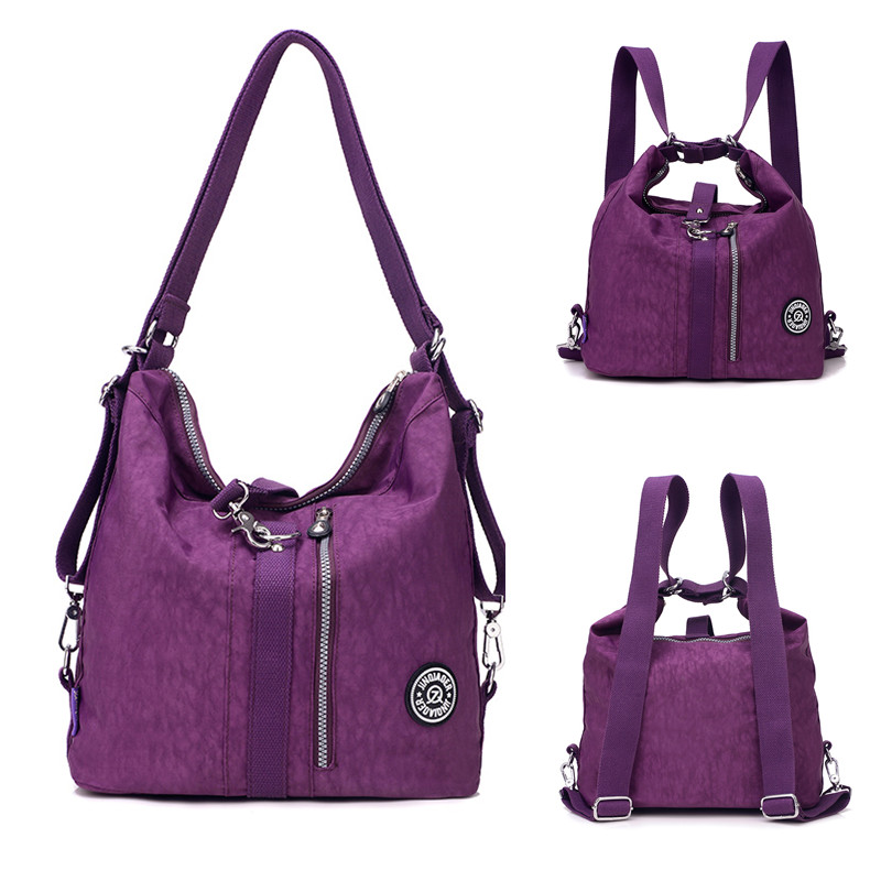 Waterproof Messenger Bag >> JINQIAOER Large Capacity Women Shoulder Bags Waterproof Nylon Lady Sling Messenger Bag Female ...