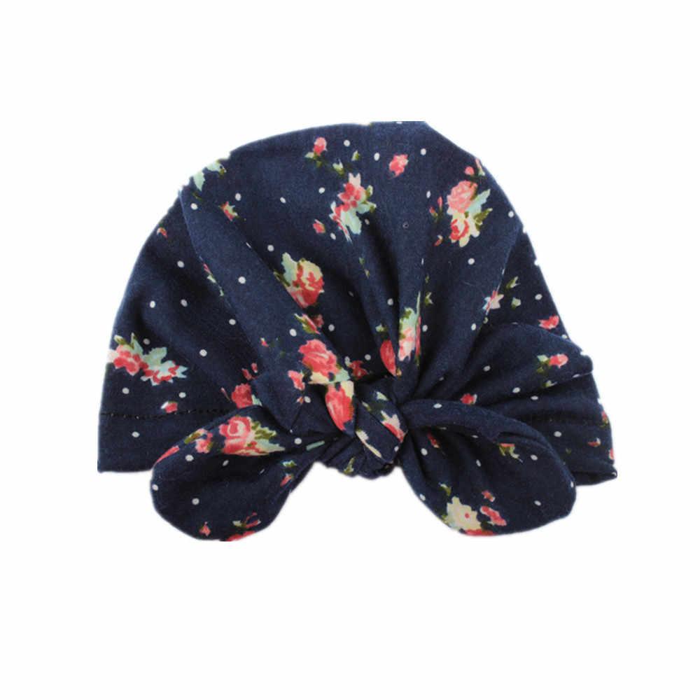 Милая хлопковая Шапка-бини для новорожденных мальчиков и девочек, зимняя теплая шапка, opaski dla dziewczynek bebes acessorios