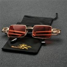 873643c9433 MINCL 2019 New Square Sunglasses Women Retro Men Brand Designer Men Punk  Sun glasses Vintage Metal
