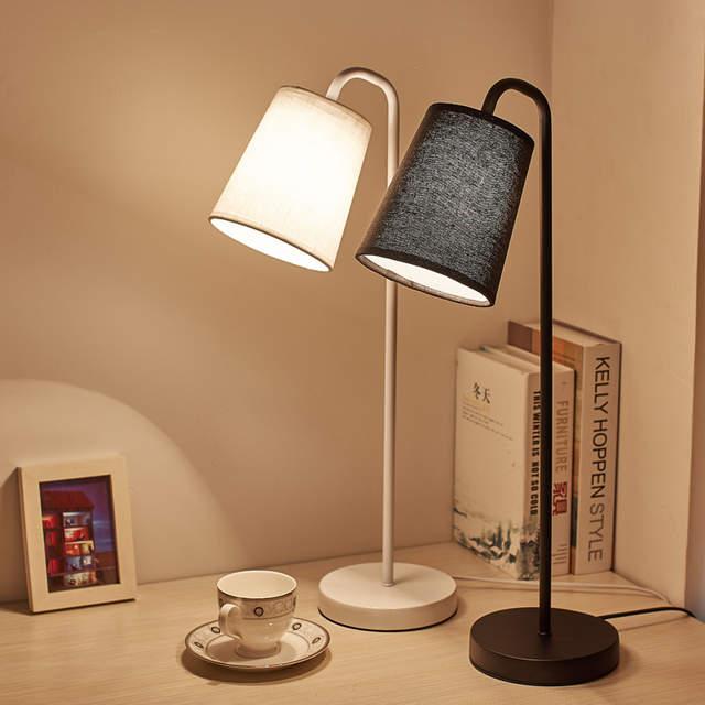 Online Shop Original Table Lamps Lights Leaf Metal Lamp Body Fabric