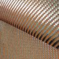 200gsm 1100D Orange Kevlar & 3K Carbon fiber mixed Fabric 2x2 Twill Carbon Kevlar cloth Aramid fiber