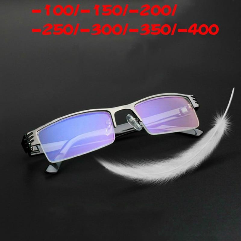 100% QualitäT Vazrobe Myopie Gläser Männer Frauen Rezept-100-150 200 250 350 400 Computer Brillen In Der Nähe Anblick Vision Brille Geschickte Herstellung