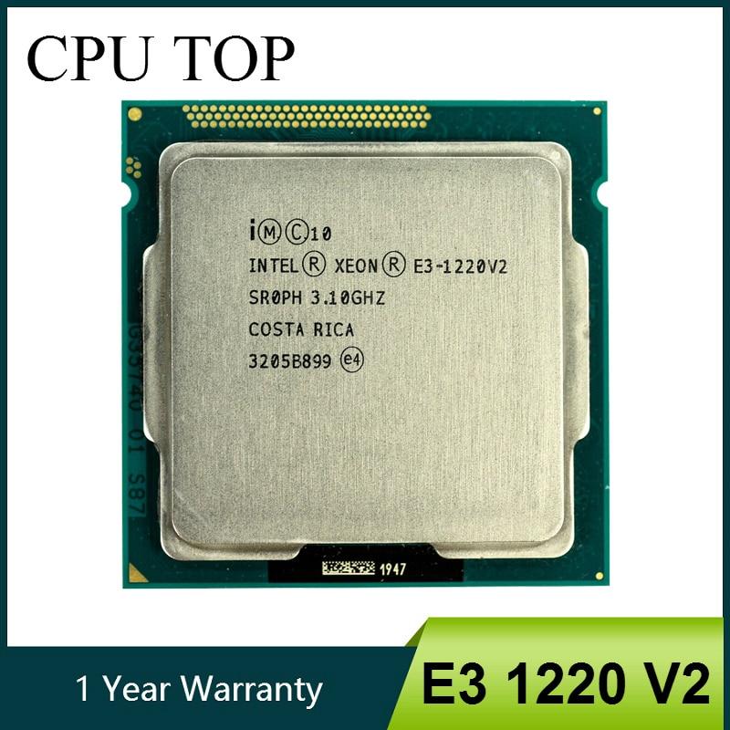 Процессор Intel Xeon E3 1220 V2 3,1 ГГц, 8 Мб, 4 ядра, 1333 МГц, SR0PH, LGA1155