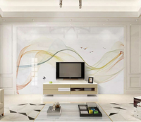 New Chinese abstract 8d Marble line WallPaper Mural 3D Artistic Conception Wall paper sticker paper For Living room Wall Decor