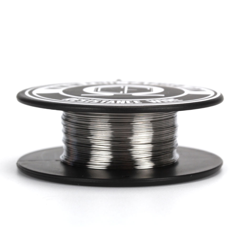 Coil Father SS316L Coil Father 20-36ga 30ft/roll Heating Wire Huge Cloud Pure Flavor Resistance Coil Wire For E Cigarette RDA