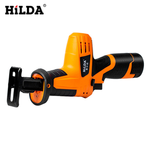Image 2 - HILDA 12V Cordless Reciprocating Saw Wood Cutting Saw Electric Saws With Saw Blades Woodworking Cutter