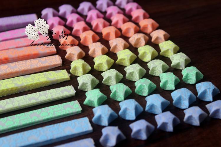 ハート 折り紙:折り紙 ラッキースター-ja.aliexpress.com