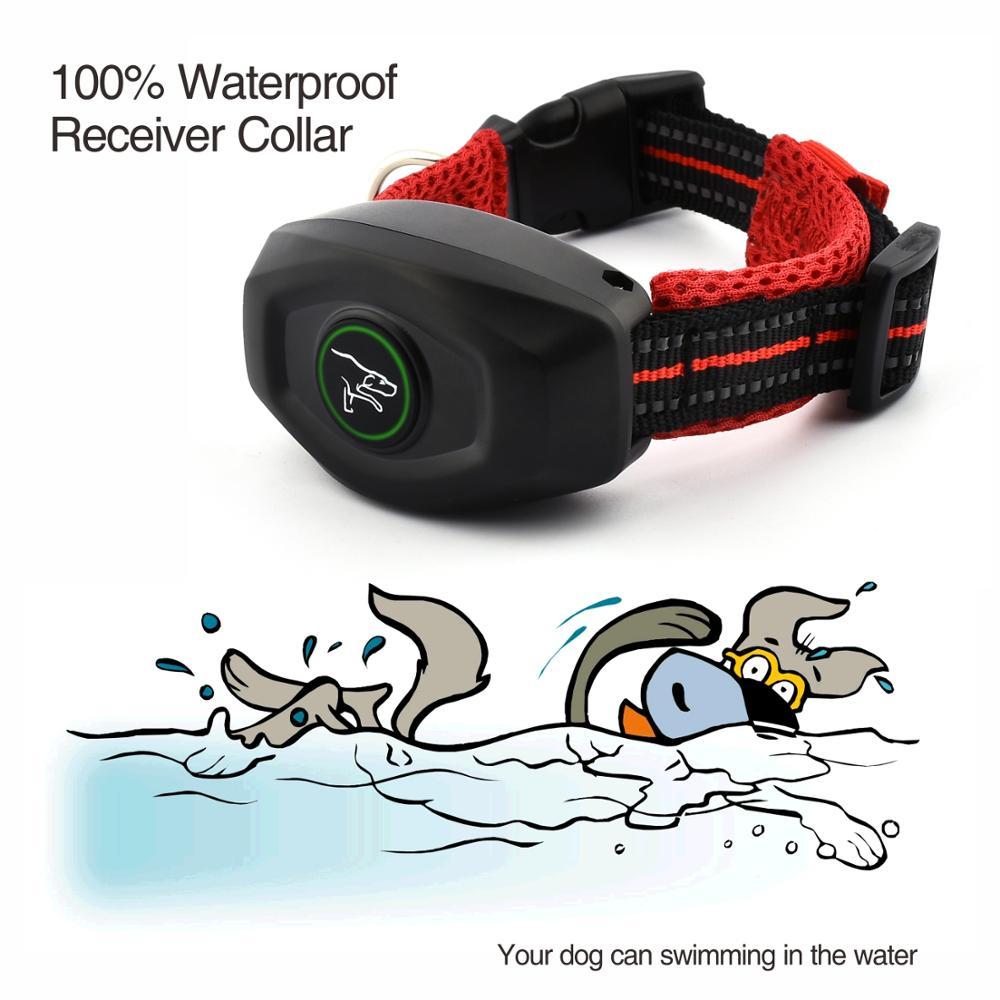 DoBe 400 м 2 в 1 Электрический дистанционный ошейник для дрессировки собак, водонепроницаемый перезаряжаемый ошейник, можно использовать отдельно в качестве ошейника против кора - 5