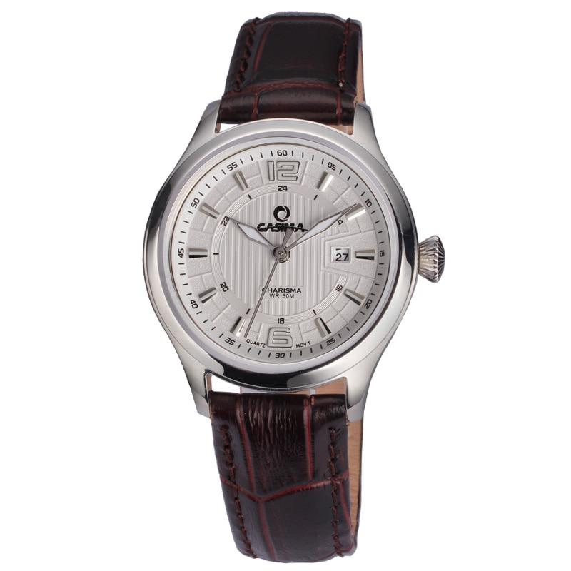 Casima fashion luxury brand watches women casual ladies quartz wrist watch women 39 s waterproof for Casima watches