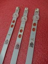 3 Pçs/set tira retroiluminação LED para Toshiba 40L3653DB 40L1653DB Mato LED40287FHDCNTD DLED40287FHD LB40017 V1 V0_05 17DLB40VXR1