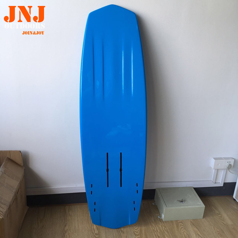 5'2x18x2.5 carbon fiber kiteboards with hydrofoil full carbon hydrofoil plate fixing case