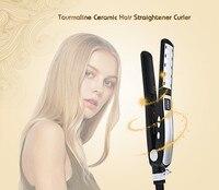 Professional Hair Straightener Flat Iron LCD Display Titanium Plates Flat Iron Straightening Irons Styling Salon Tools
