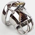 Мужской целомудрие шарик из нержавеющей стали носилки секс кольцо для мужчин мужской целомудрие устройства целомудрие кейдж