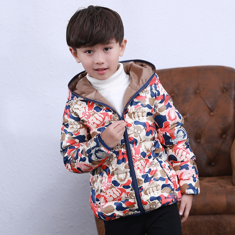ФОТО Fashion 2016 Boys Girls Camouflage Duck Down Jacket Hooded Children Parka Kids Boy Girl Winter Outerwear Multicolor Warm Clothes