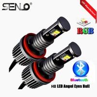 Multi Colors Changing RGB Angel Eyes E92 LED Halo Ring LED Marker Headlight RGB For Car BM W 320d 320i 320xd 323i 325d 325i 328i