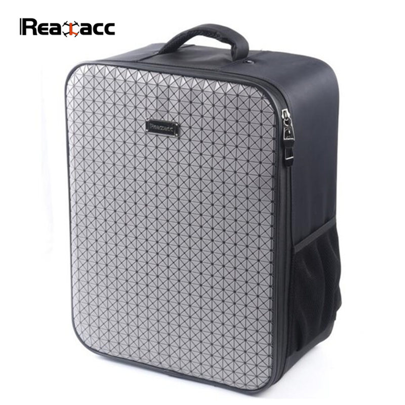 New Realacc Backpack Carrying Case Bag Suitcase For Xiaomi Mi Drone RC Quadcopter FPV Spare Part Accessories f04305 sim900 gprs gsm development board kit quad band module for diy rc quadcopter drone fpv
