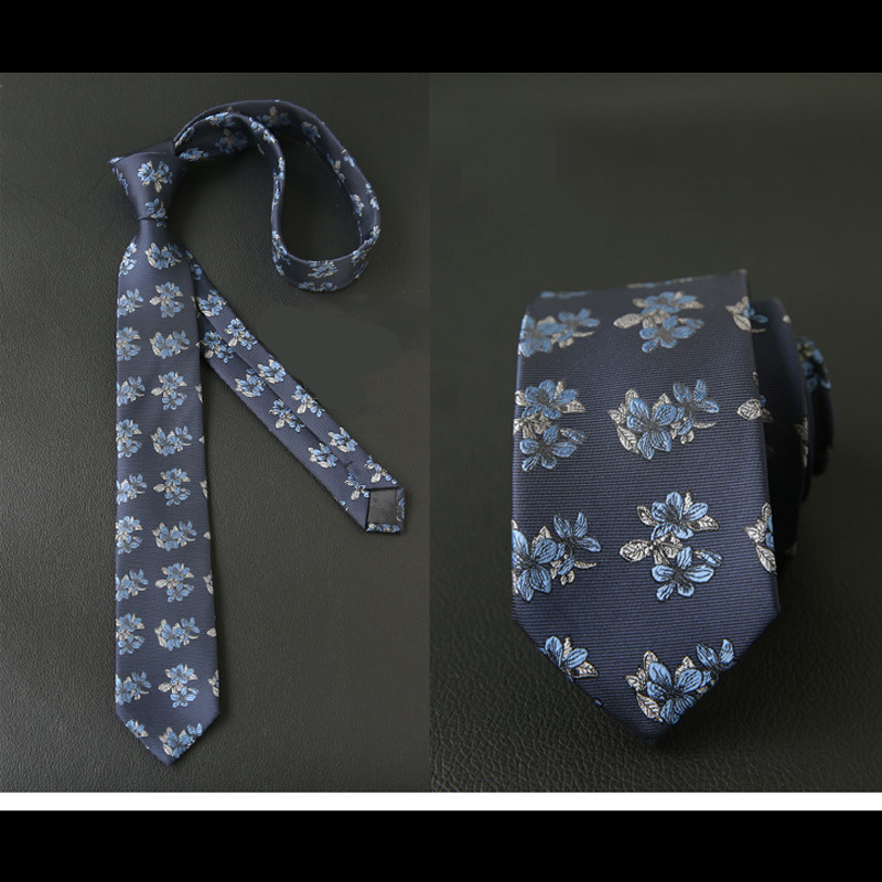 Mantieqingway Business Polyester Neck Ties For Mens Floral Printed Necktie Gravatas Corbata Slim Of Vestidos Narrow Neck Tie
