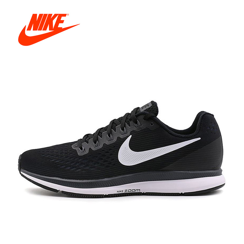 Original New Arrival Authentic Nike AIR ZOOM PEGASUS 34 Men's Breathable Running Shoes Sports Sneakers classic original new arrival 2017 nike pro classic logo read women s sports bras sportswear