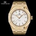DIDUN Moda Casual Para Hombre Relojes de Primeras Marcas de Lujo Reloj de Cuarzo De Negocios Reloj Masculino Luminoso de Pulsera 30 m resistente al Agua