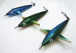 7 cali 135g Sea Fishing Tackle Sea Bird Leader Fishing Lure samolot kształt przynęty ciała przez plastik w Przynęty od Sport i rozrywka na