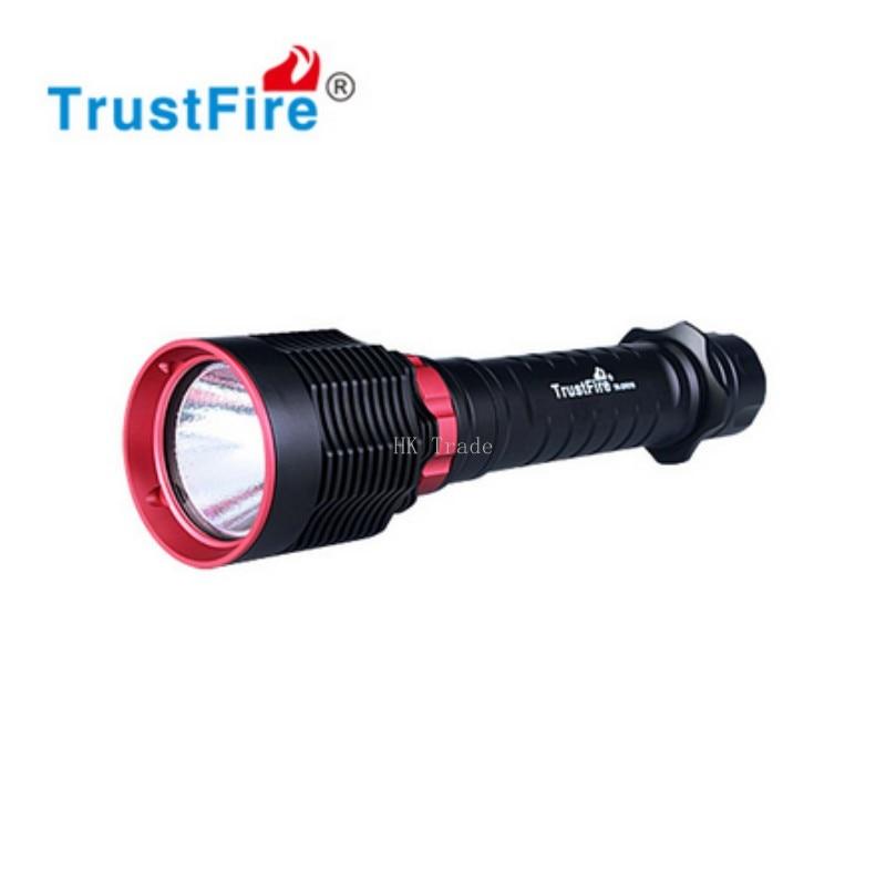 TrustFire DF010 LED Diving flashlight CREE XHP70 1600 Lumens Diving By 26650 Battery flashlight trustfire