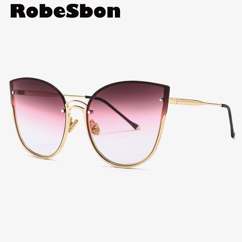 Classic Brand Quality Cat Eye Sunglasses Women Real Fashion Sun glasses for Women Sunglasses oculos de sol feminino