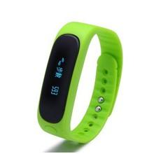 Водонепроницаемый Мода Smart Bluetooth трекер Браслет E02 Band вызова/sms напомнить спортивные часы connecte для Iphone, Android