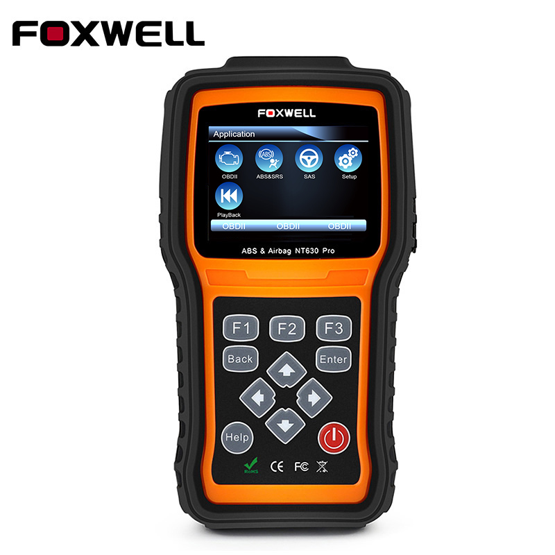 FOXWELL NT630 Pro OBD2 Car Diagnostic Tool Engine ABS SAS Airbag SRS Crash Data Reset OBDII OBD 2 Auto Automotive Scanner Tools 2016 new vs450 vag obd 2 obdii code reader diagnostic tool reset airbag abs for au di vw volk swagen free shipping