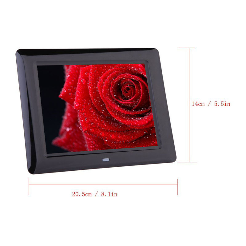 HIPERDEAL 7 Inch HD LCD Digital MP4 Player Photo Frame Slideshow Music Video Player Children Gift Entertainment MAY16 digital video player 7inch hd lcd digital photo frame with alarm clock slideshow mp4 player bk media player with screen tw