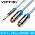 Vention 3.5mm Jack to 2 Female RCA Splitter 1 to 2 Y Audio Cable For Stereo Amplifier