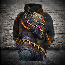 Newest 3D Print Hoodies Men Black Panther Cosplay Hoody Sweatshirt Fashion Hipster Streetwear Tops Pullovers Top cool music symbol fire flame 3d print sweatshirt men women hiphop streetwear pullovers hoodies boys hipster black top clothes