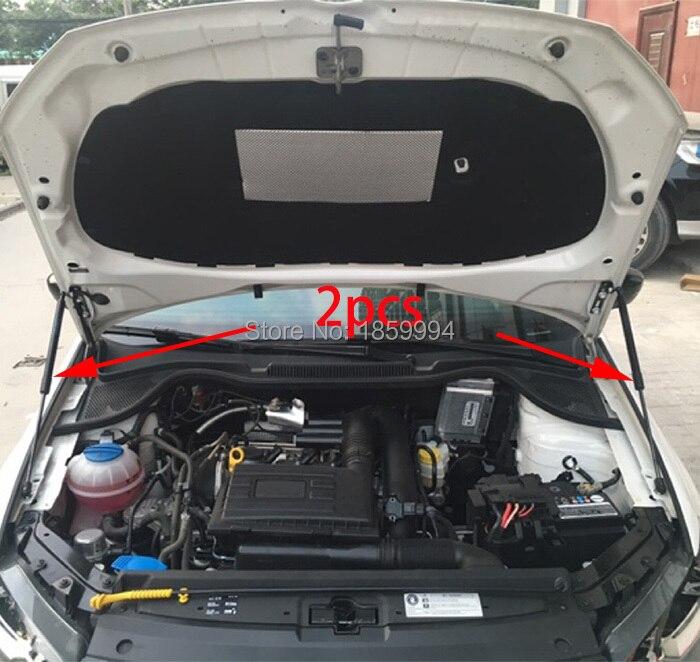 Front hood Motor abdeckung unterstützung Hydraulische rod Strut frühling schock Bars halterung für VW POLO MK5 2011-2017