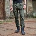 Air Force One Мужская cargo pants Slim Гетеросексуальных Мужчин Случайные брюки Мужские Нескольких Карман Армии Военные Брюки На Открытом Воздухе бегунов Плюс размер