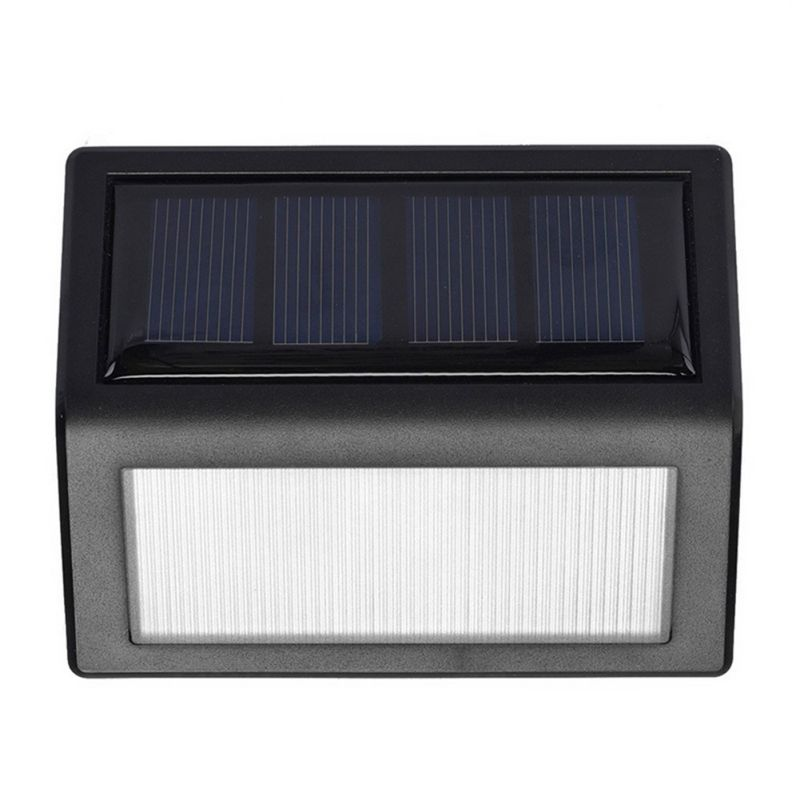 6 LED Porch Path Street Fence Garden light Waterproof Outdoor Wall LED Solar Night light PIR Motion Sensor Auto Swith Solar lamp