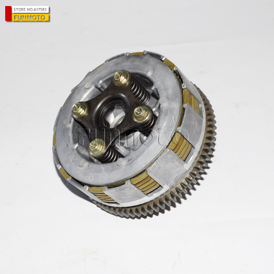 Secondary clutch  suit for JS250/BASHAN/LONCIN250/BAJA 250 ATV JS250/BASHAN/LONCIN250 ATV clutch assy of js400atv and bashan 400cc atv parts code is f3 414000 0