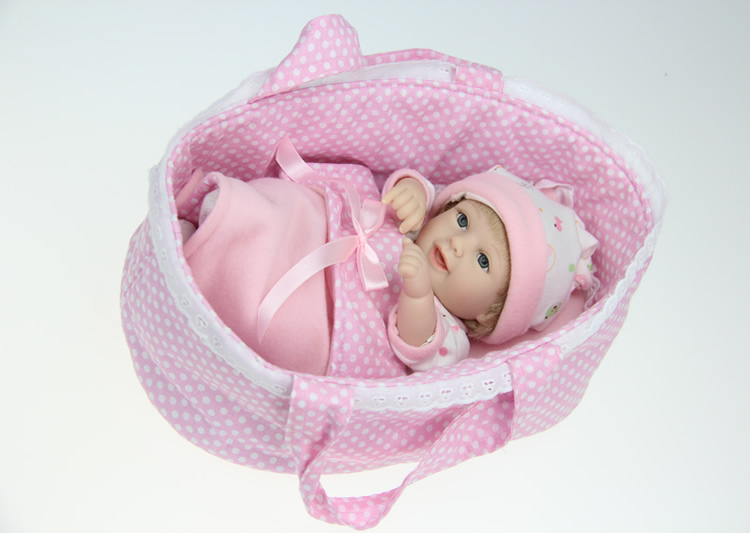 ФОТО 28cm high quality Silicone baby reborn dolls/baby  for girl princess gift