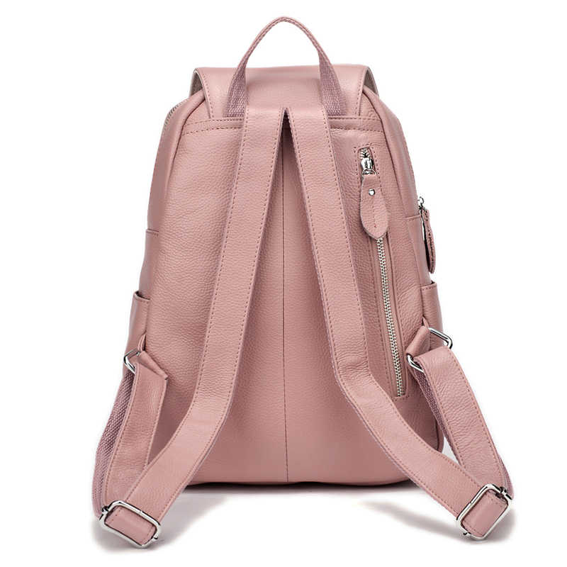 ZENCY 13 цветной рюкзак 100% натуральная коровья кожа Женский первый слой коровья кожа школьная книга Рюкзаки Сумки