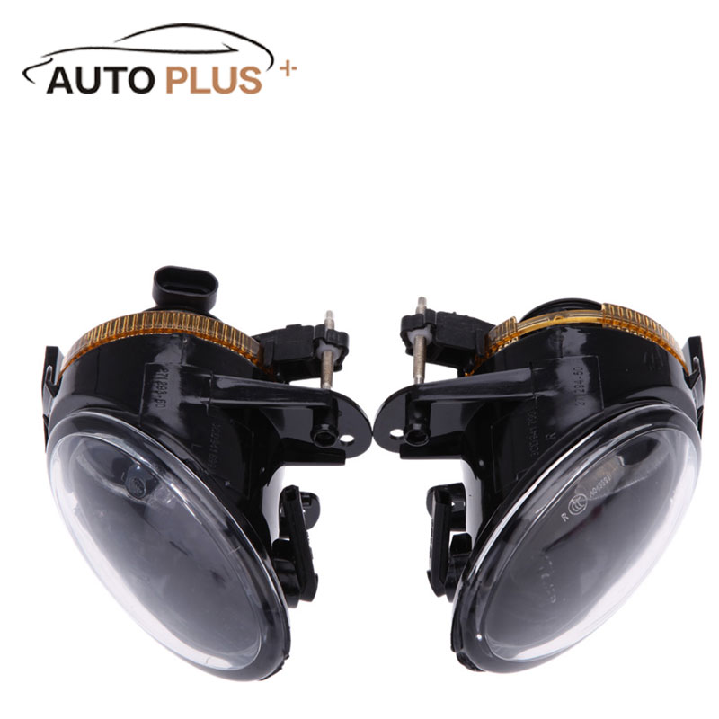Auto-styling Nebelscheinwerfer Objektiv für VW Passat B6 Frontstoßstange Paar von Nebelscheinwerfer Fahrleuchte Autos Led-tagfahrlicht für Passat B6